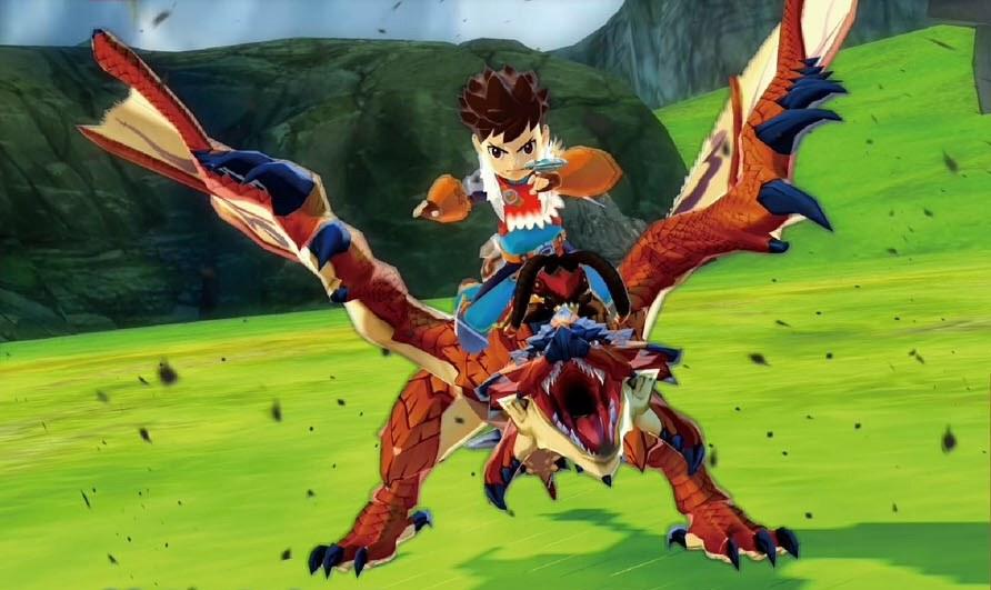 Monster Hunter Stories Rathalos Clip Nintendo Everything
