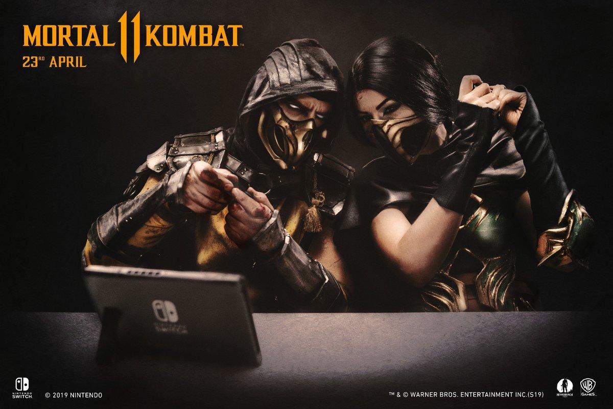 Mortal Kombat 11 Switch gameplay reveal
