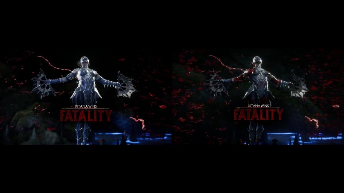 Mortal Kombat 11 Switch vs. PS4 comparison