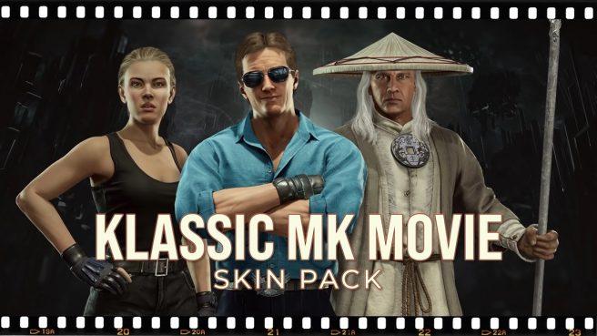 Mortal Kombat 11 - Klassic MK Movie Skin Pack
