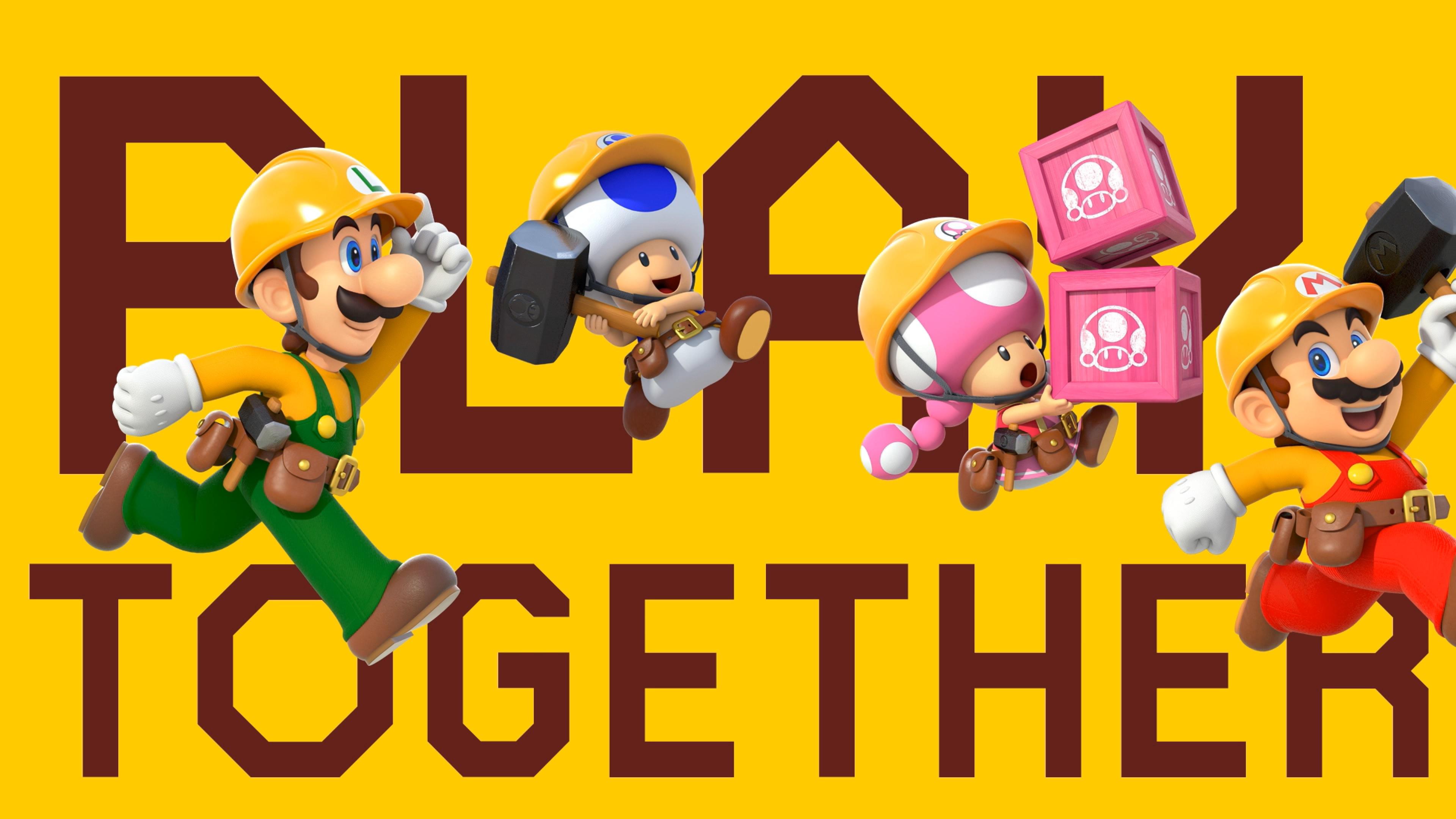 Nintendo officially confirms Super Mario Maker 2 doesn't let you