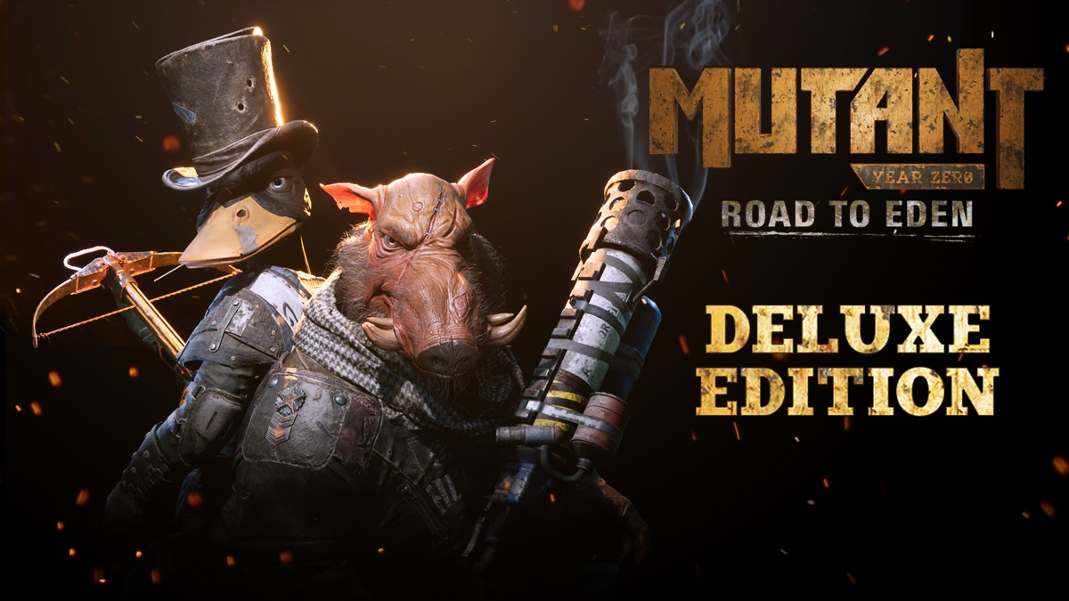 Mutant Year Zero: Road to Eden – Deluxe Edition update out now