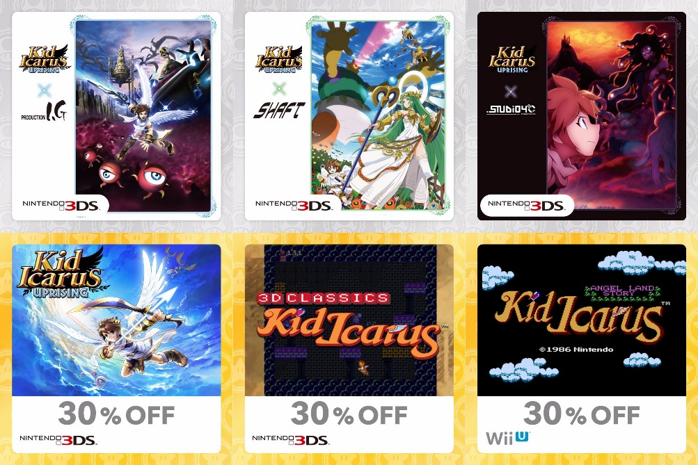 My Nintendo Adds New Kid Icarus Rewards In North America