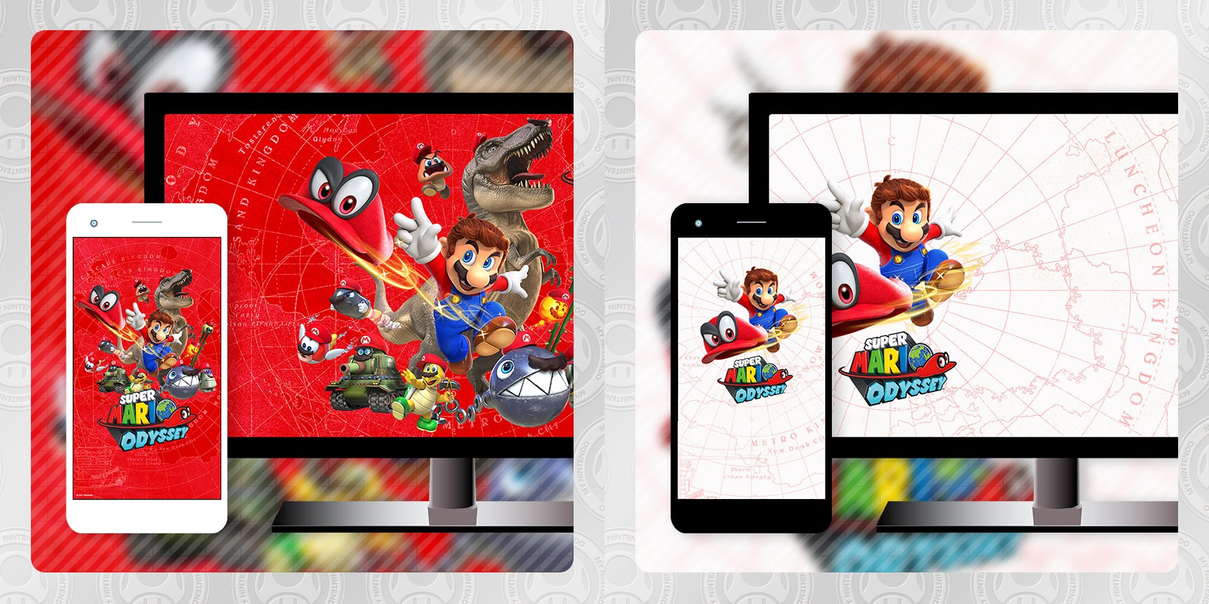 My Nintendo Adds Two More Mario Odyssey Wallpapers Lapel