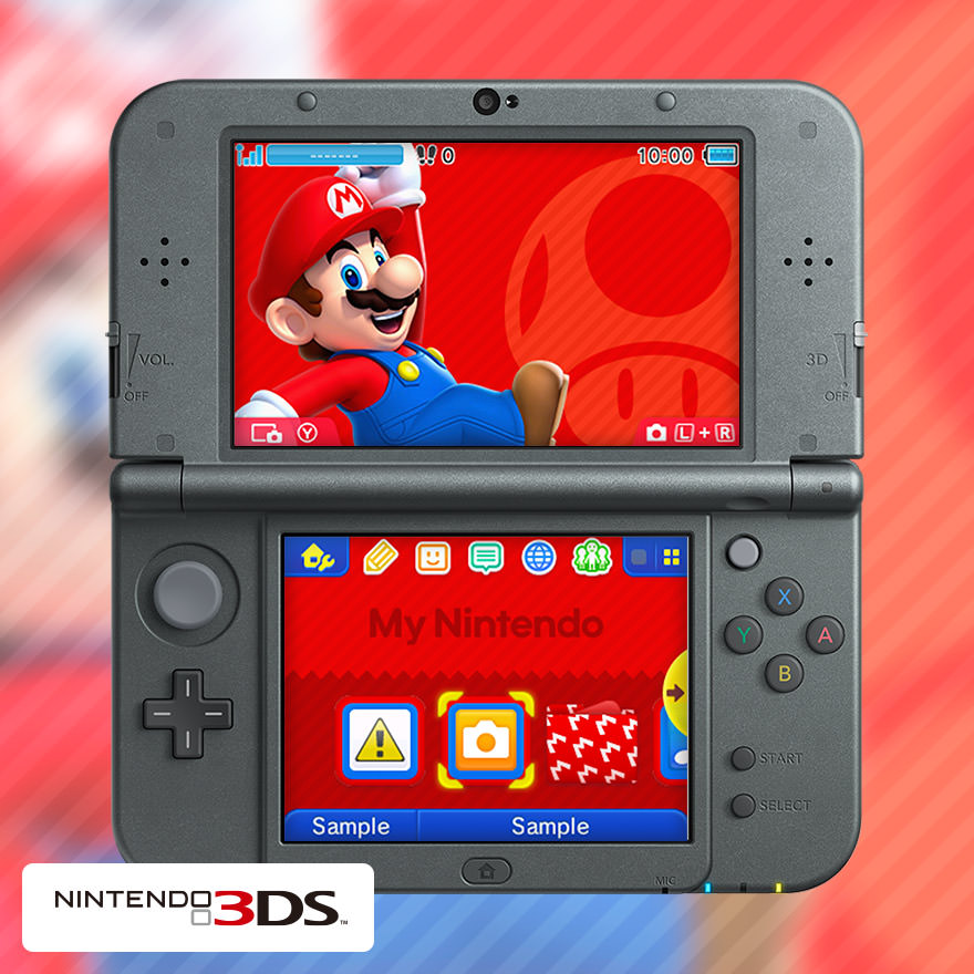 Footage of the My Nintendo Mario 3DS theme - Nintendo Everything