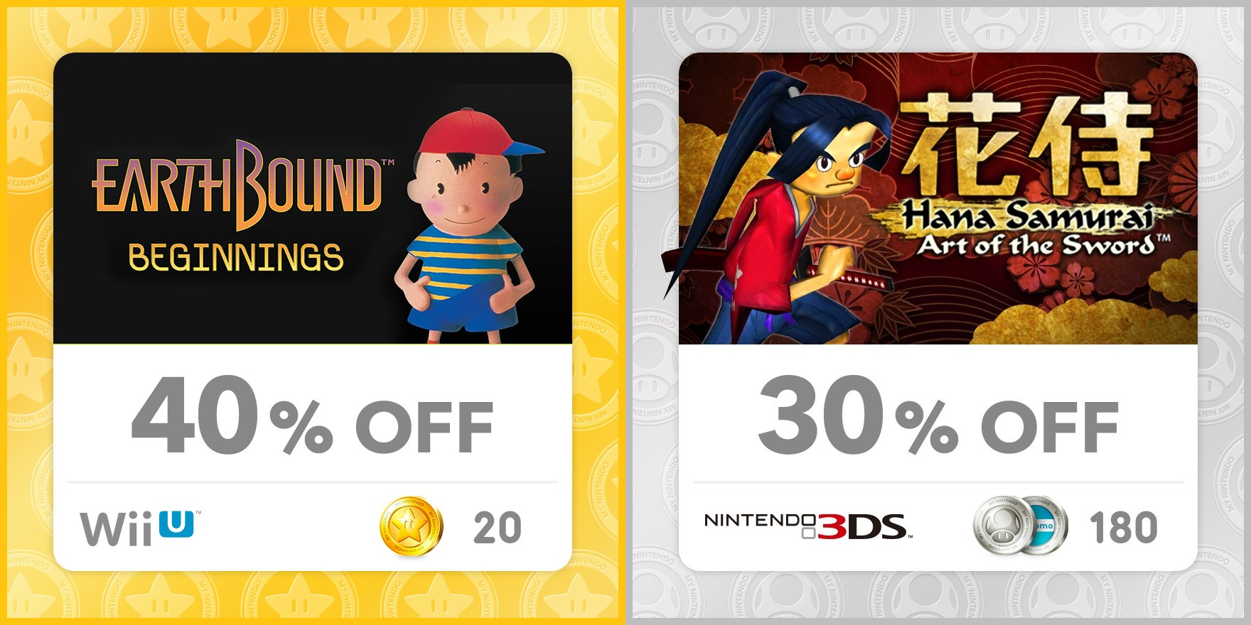 My Nintendo Europe adds discounts for EarthBound Beginnings, Hana