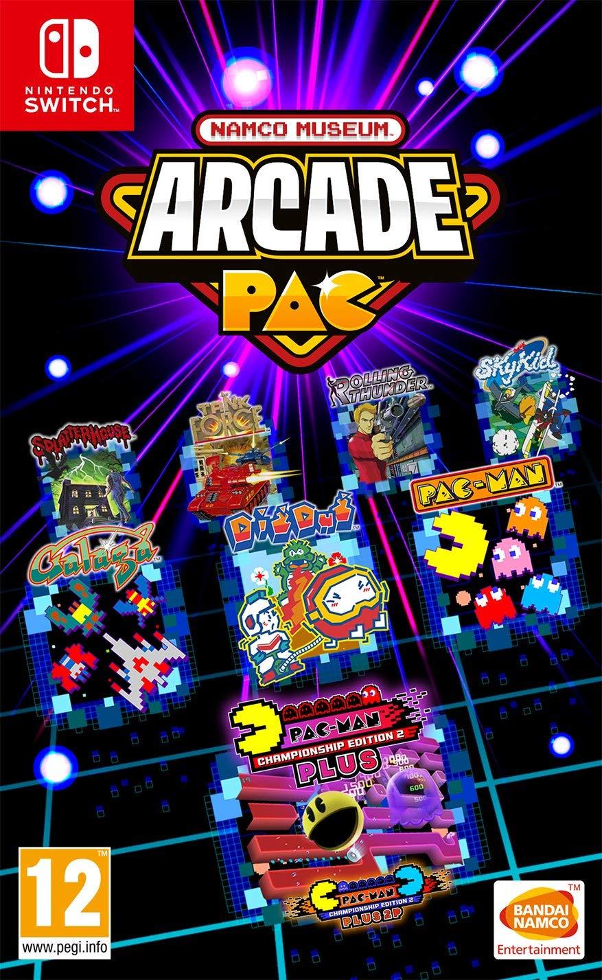 Video Game Girl Stock Image Image Of Latina Isolated: European Namco Museum Arcade Pac Boxart