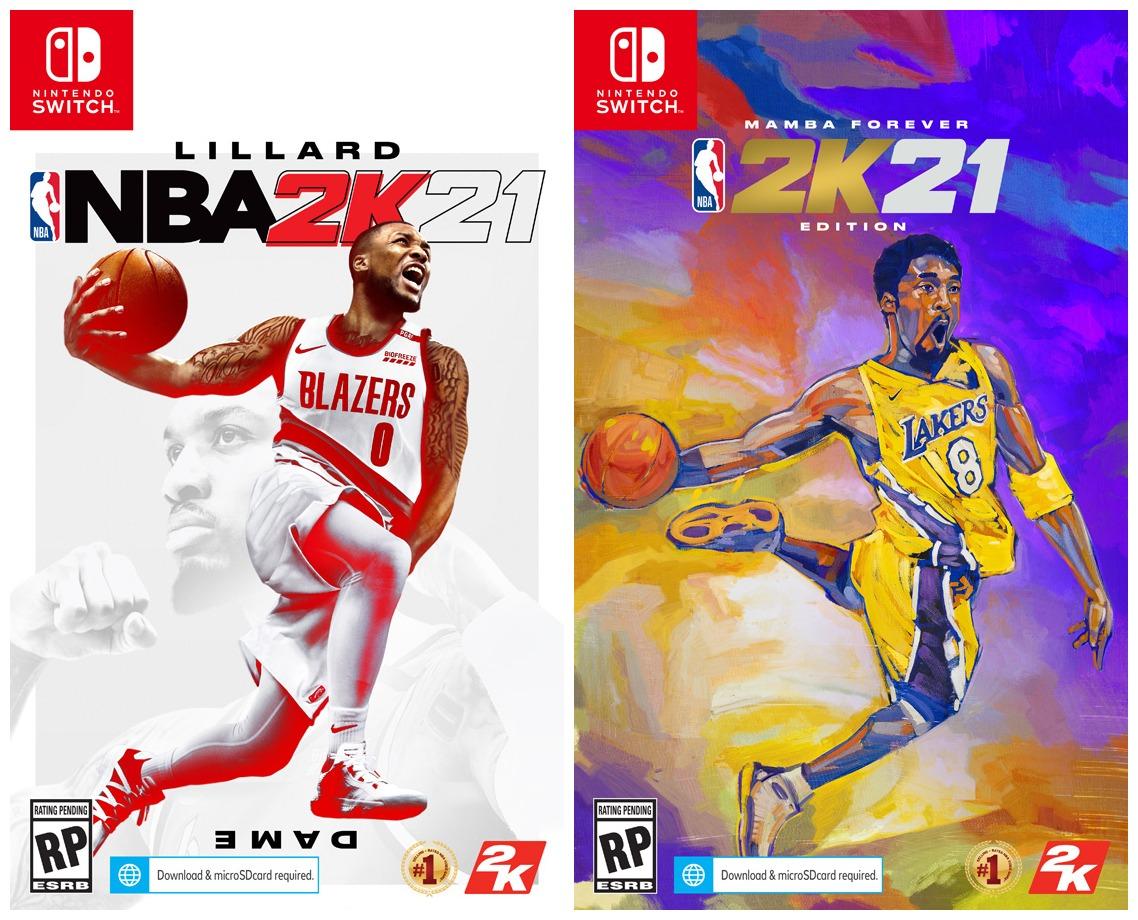 NBA 2K21 boxart, pre-orders open - Nintendo Everything