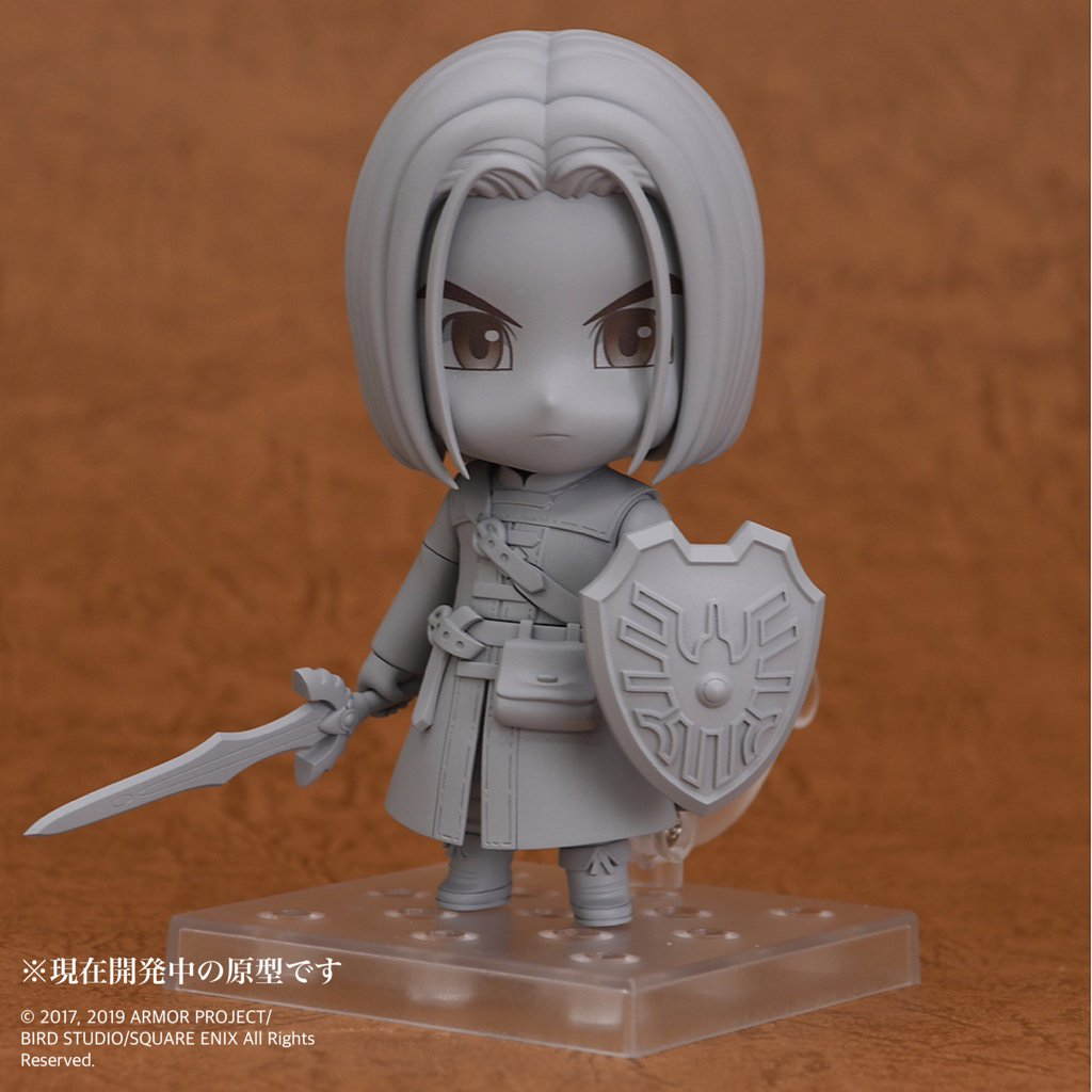 Hero from Dragon Quest XI getting the Nendoroid treatment