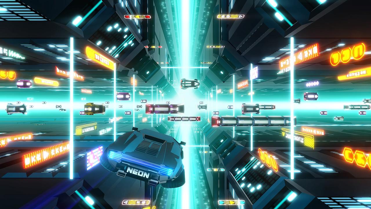 Neon Drive footage