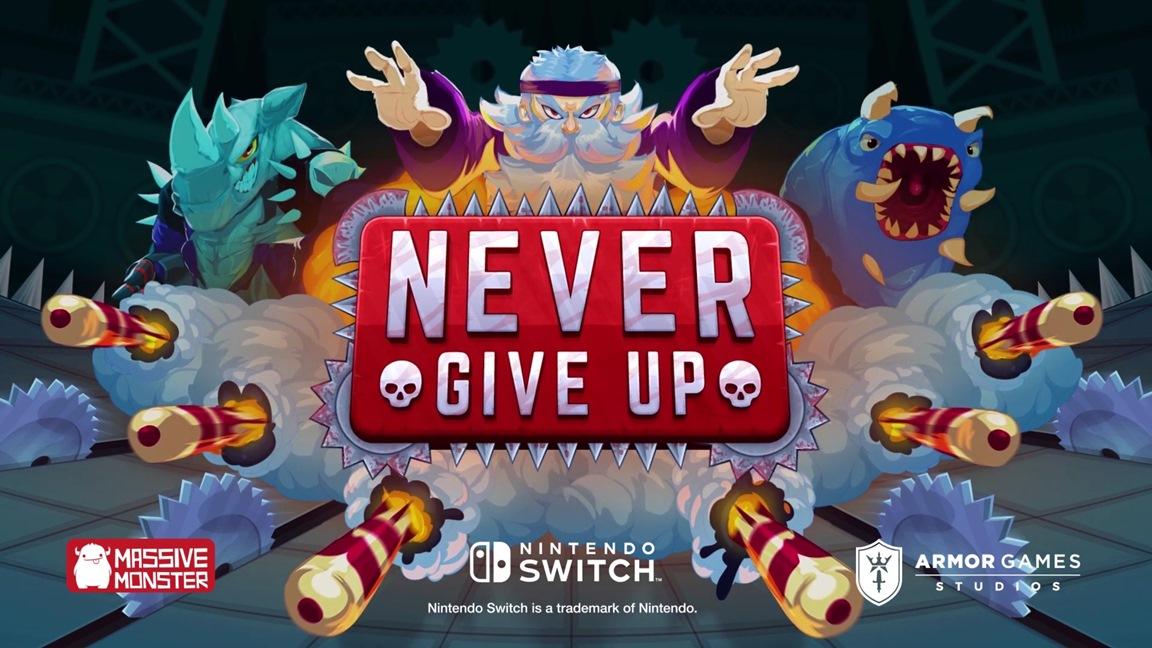 Never Give Up coming to Switch - Nintendo Everything