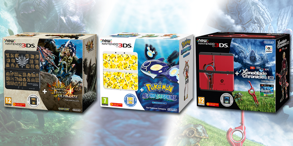 59a529fb2f New 3DS bundles for Monster Hunter 4 Ultimate
