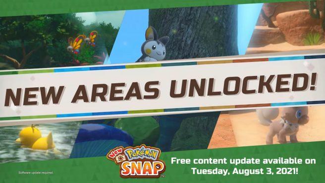 New Pokemon Snap version 2.0.0 update