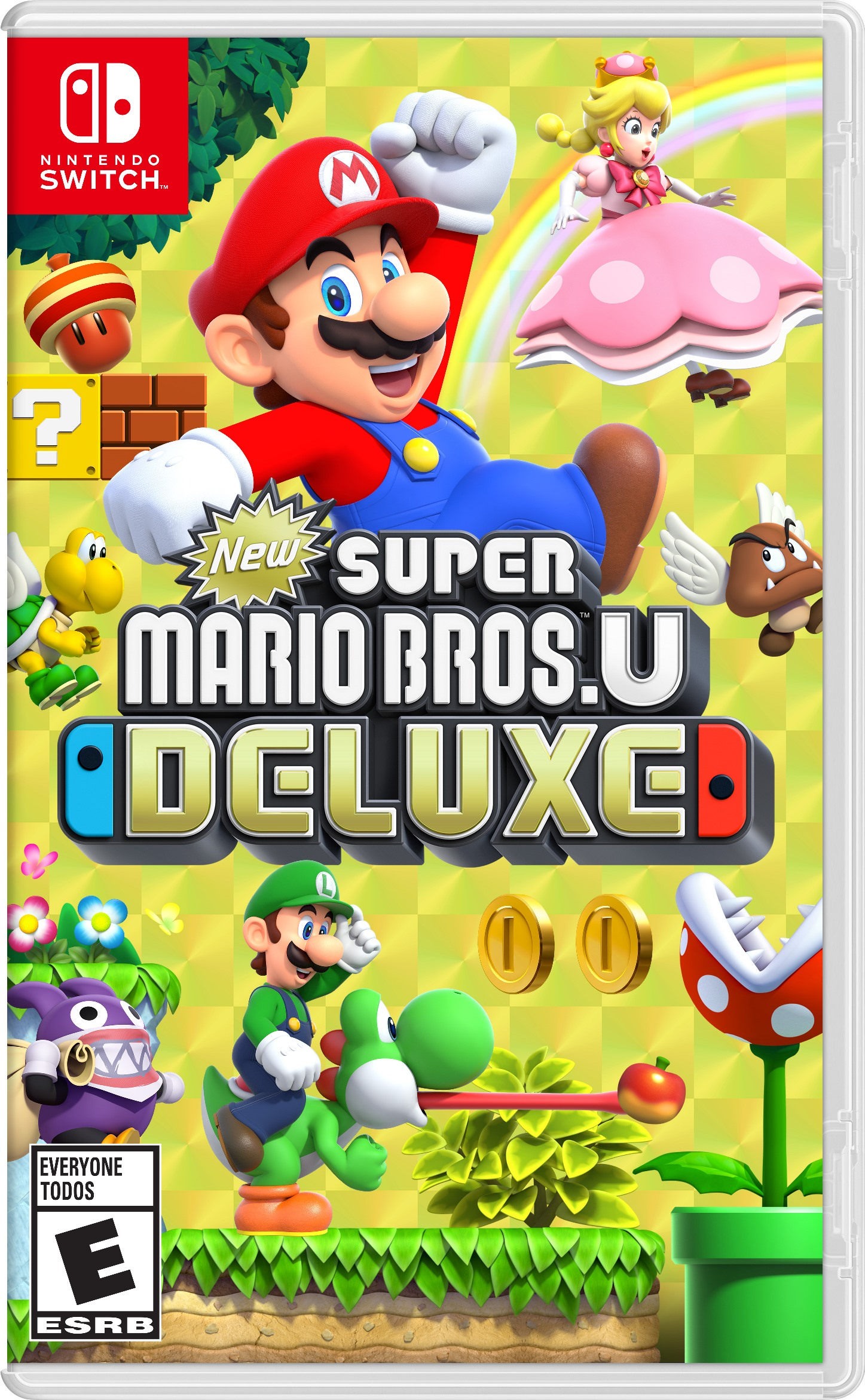 New Super Mario Bros. Deluxe boxart, screenshots, art - Nintendo ...