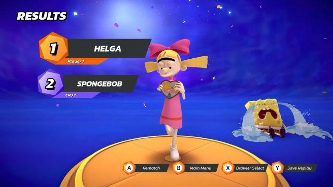 Nickelodeon All-Star Brawl helga pataki