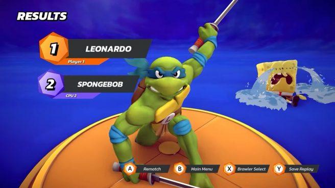 nickelodeon all-star brawl Leonardo