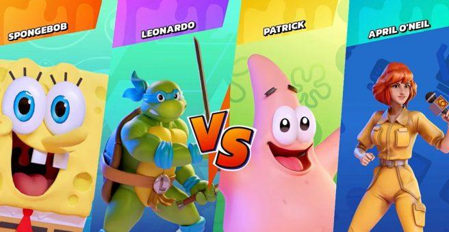 Nickelodeon All-Star Brawl spongebob Leonardo Patrick Lucy