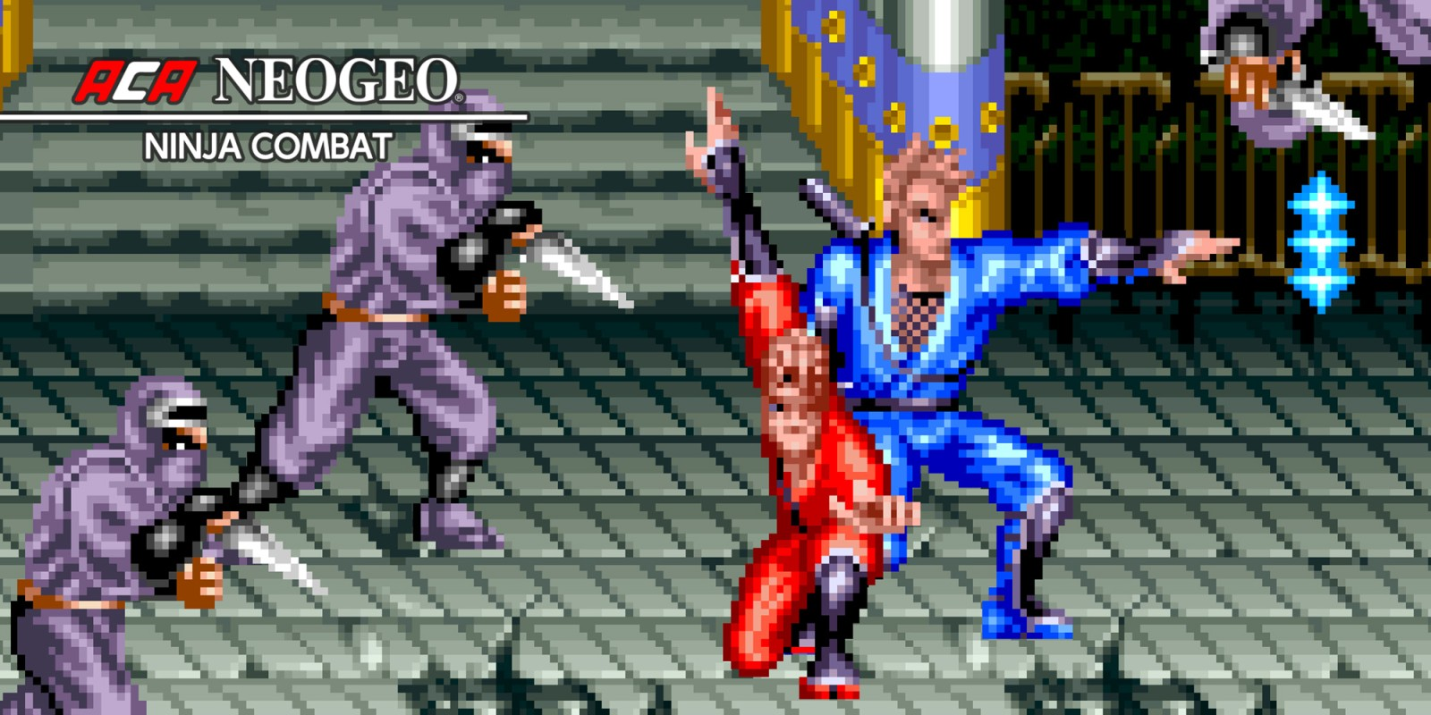 ACA NeoGeo Ninja Combat footage - Nintendo Everything