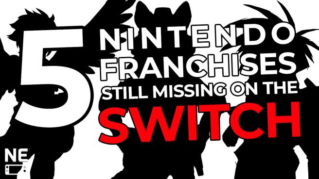 nintendo franchises not on switch