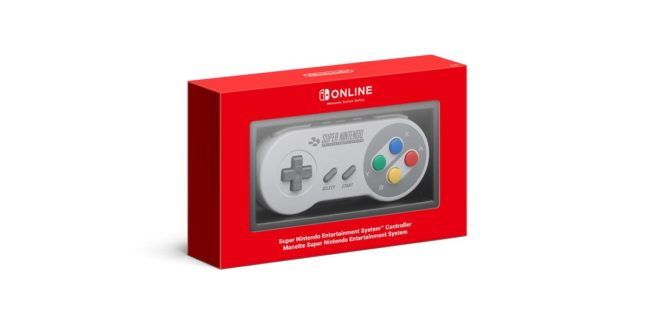 SNES controller for Switch out of stock, Nintendo to share news in January 2020