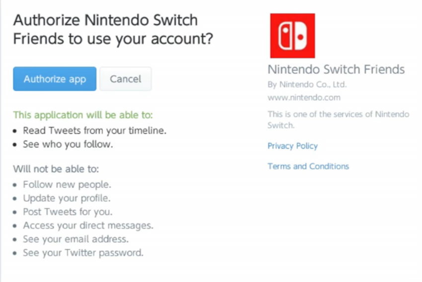Exploit in Switch 5 0 firmware update lets you access Twitter