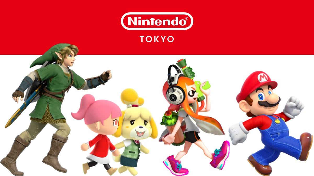Nintendo Tokyo site open