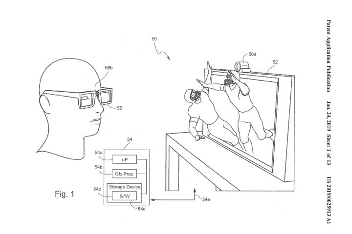 Nintendo Files Patent For Eye Tracking Enabled 3d Viewing
