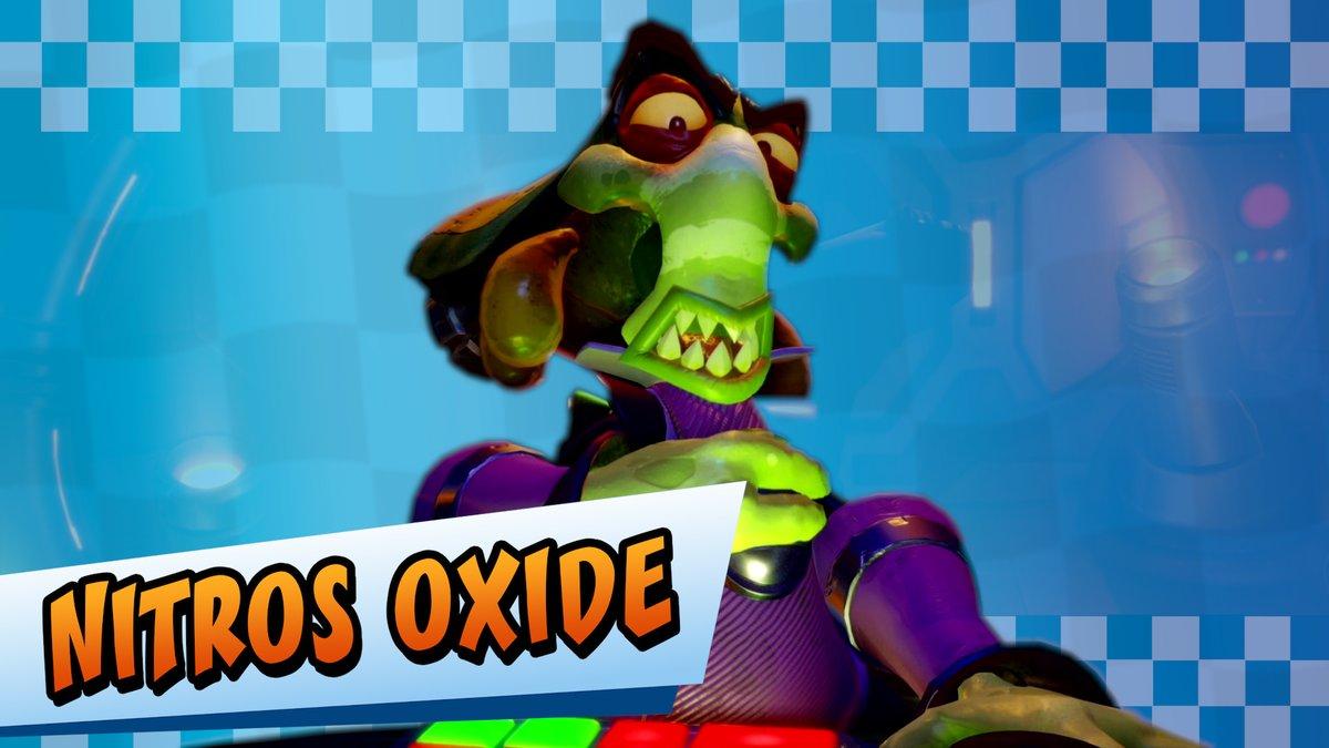 Crash Team Racing Nitro-Fueled trailer shows Nitros Oxide, Oxide