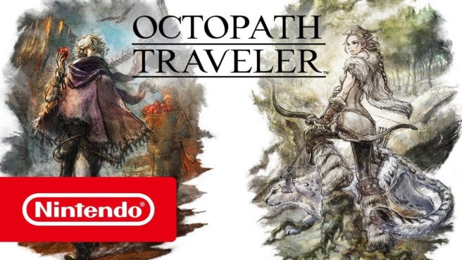 Octopath Traveler - H'aanit and Therion