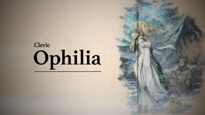 Octopath Traveler - Ophilia