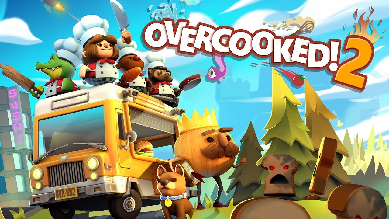 Nintendo Treehouse Live - E3 2018 - First Overcooked 2 ...
