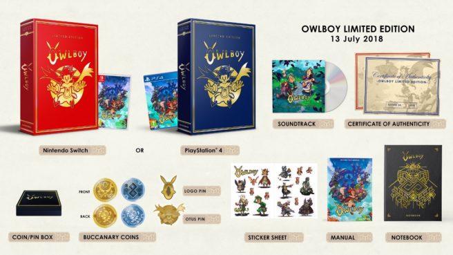 Owlboy Limited Edition