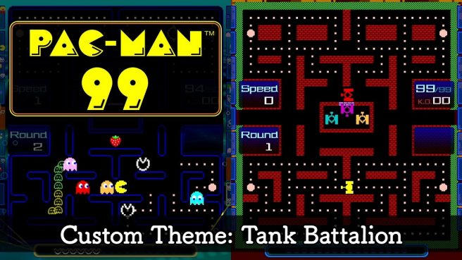 Pac-Man 99 Tank Battalion