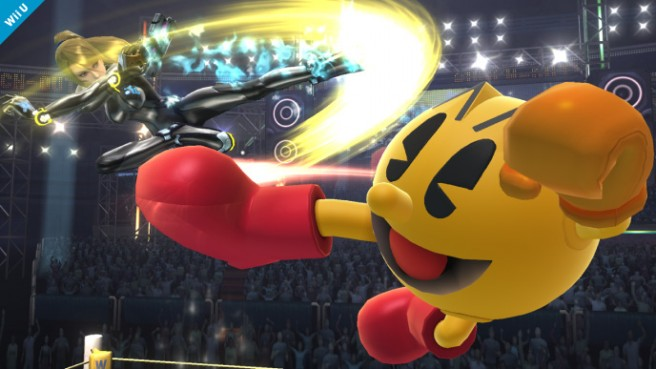 Pac-Man in Super Smash Bros. for Wii U/3DS