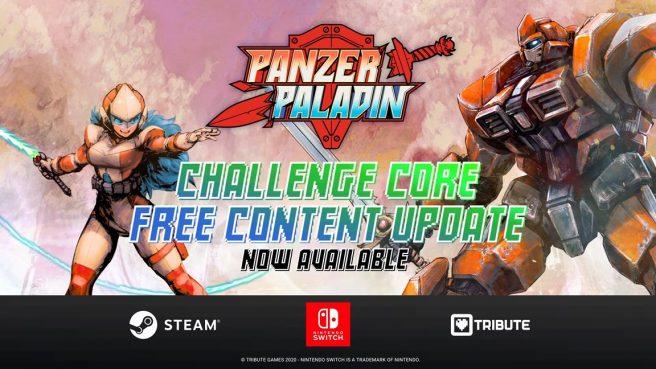 """Panzer Paladin - """"Challenge Core"""" update"""