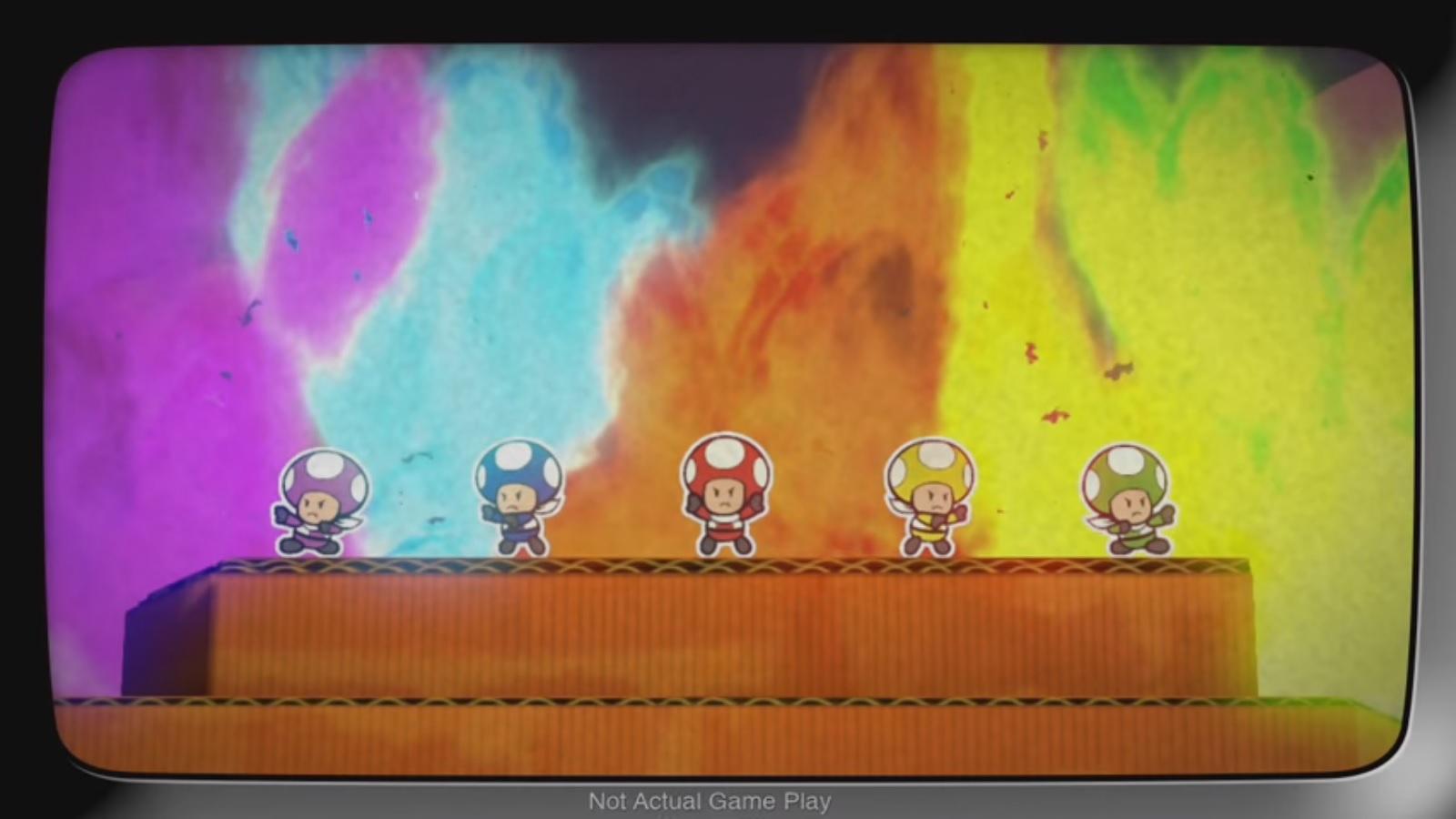Paper Mario Color Splash Rescue V Episode 2 Nintendo Everything