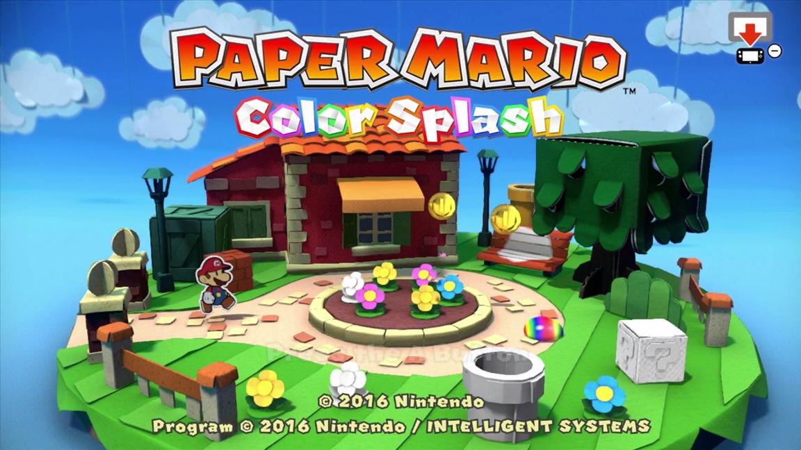 nintendo download 10 06 16 europe paper mario color splash
