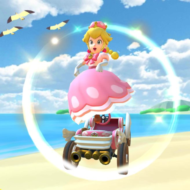Peachette debuts in Mario Kart Tour