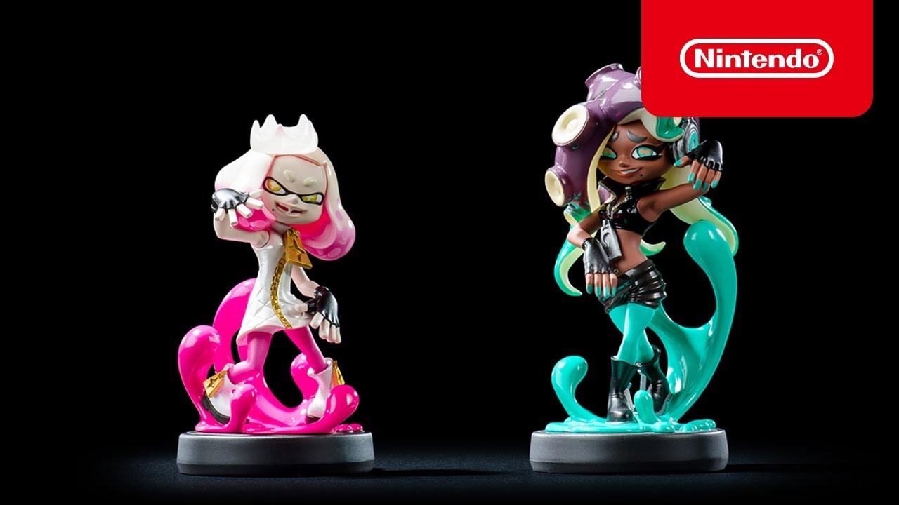 Splatoon 2 Pearl And Marina Amiibo Out On July 13 Nintendo Everything