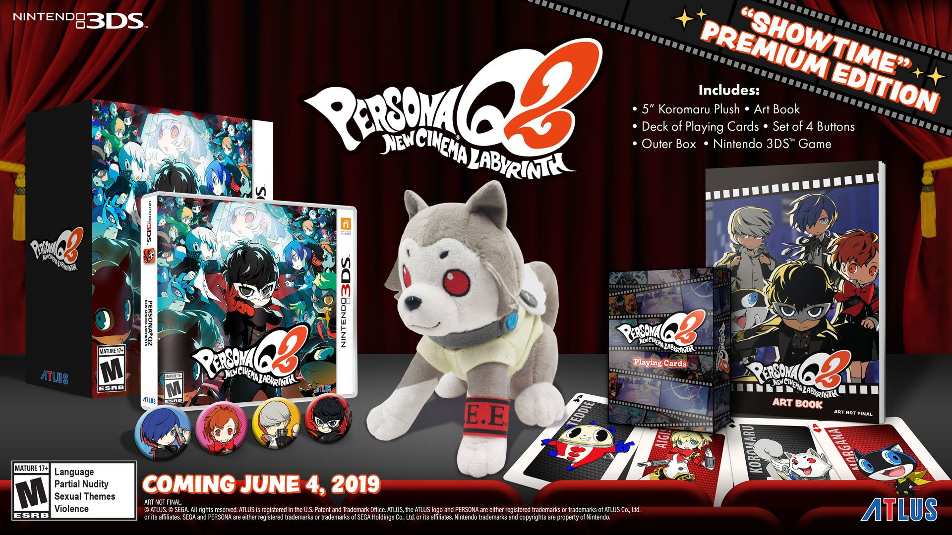 Persona Q2: New Cinema Labyrinth coming west in June