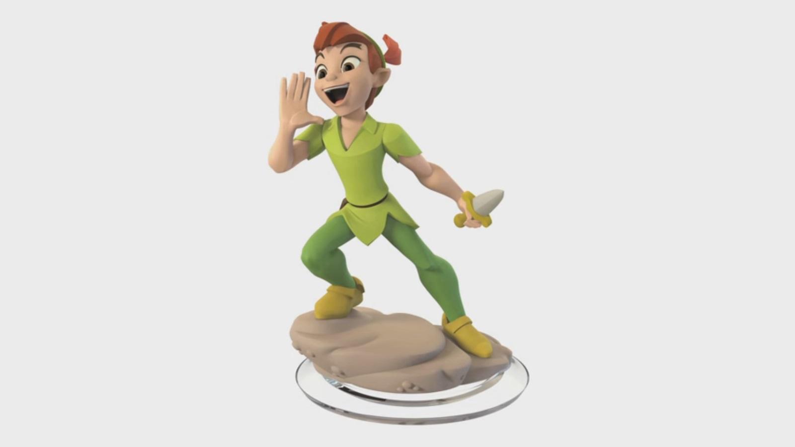 More Scrapped Disney Infinity 3 0 Figures Peter Pan