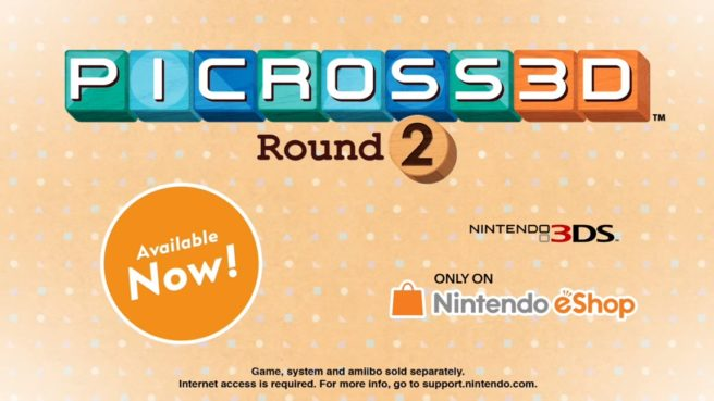 Picross 3D: Round 2 file size - Nintendo Everything