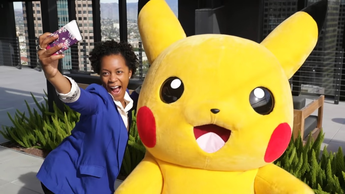 Video Who Inspired The New Nintendo 2ds Xl Pikachu Edition