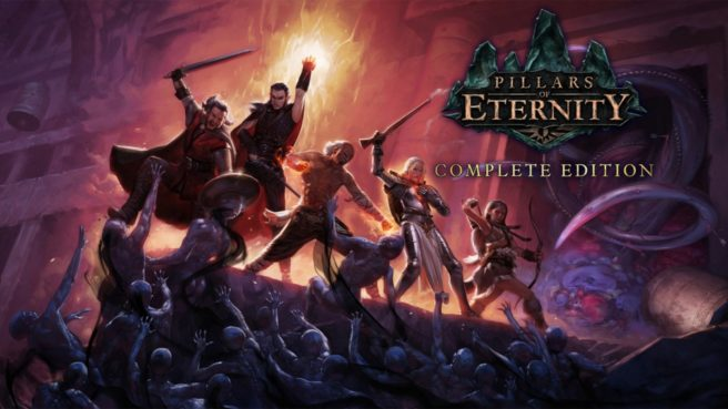 Pillars of Eternity: Complete Edition Switch update out now (version 2.56.00), patch notes
