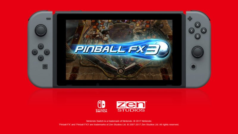 Pinball FX3 adding Williams Pinball Vol  3 pack out on March
