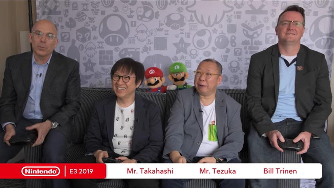 Video: Nintendo devs and execs play Super Mario Maker 2