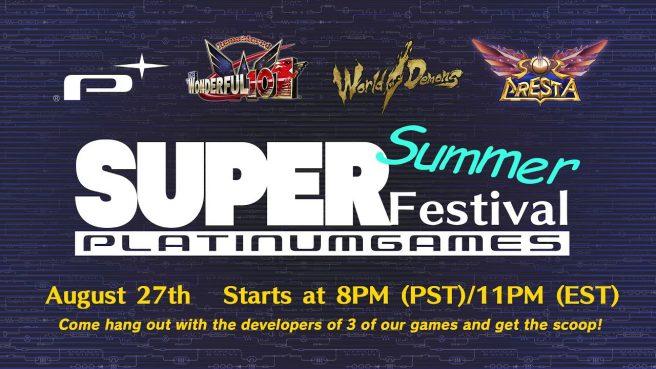 PlatinumGames SuperSummer Festival