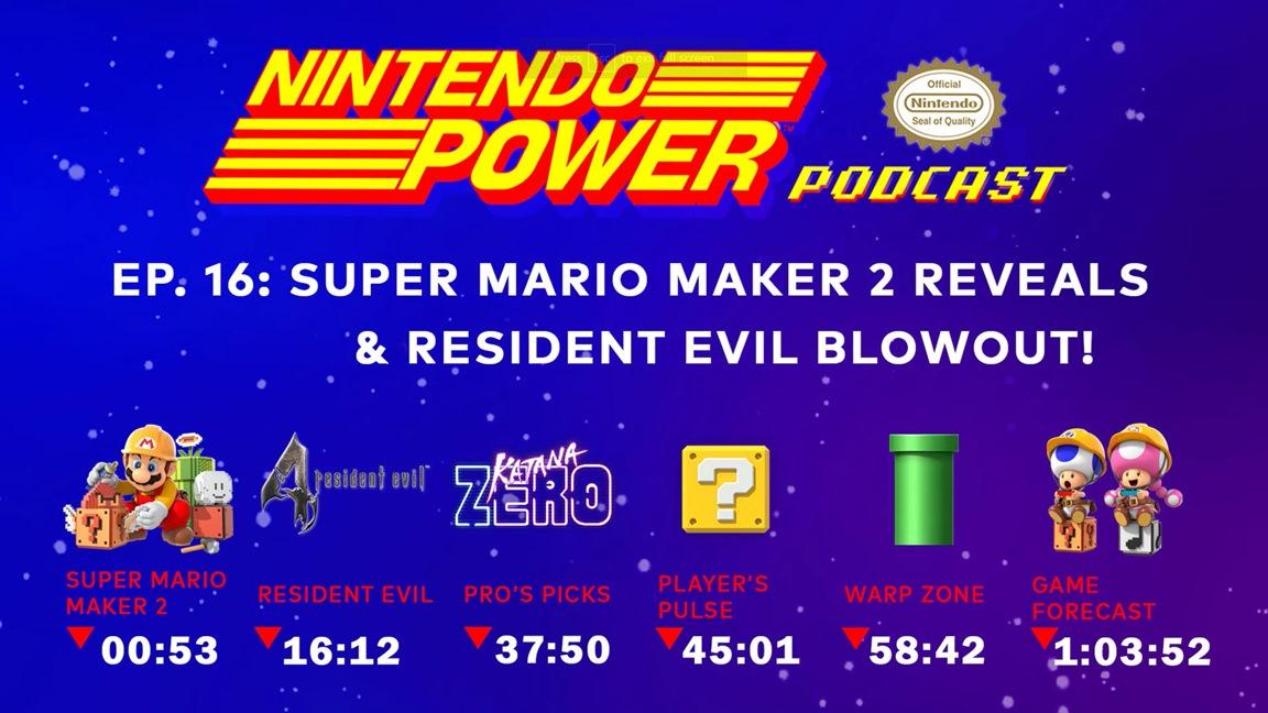 Nintendo Power Podcast episode #16 now live