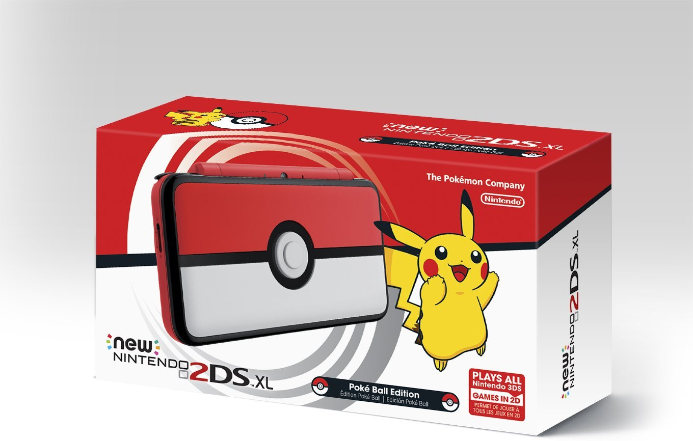 Amazon Is Now Taking Pre Orders For The Special Poke Ball New 2DS XL If Youre Interested You Can Reserve System Here Its Due Out On November 3