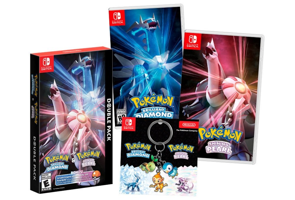 Best Buy giving out a keychain for Pokemon Brilliant Diamond and Shining Pearl Double Pack pre-order